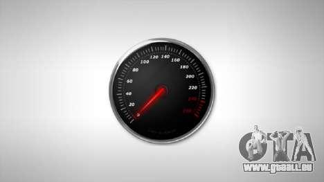 Compteur de vitesse AdamiX v3 pour GTA 4