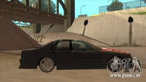 Nissan Skyline ER34 Street Style für GTA San Andreas zurück linke Ansicht