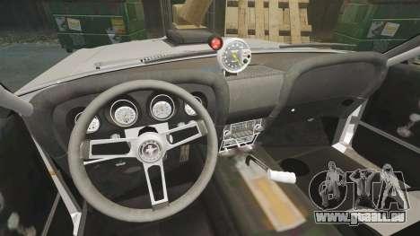 Ford Mustang Mach 1 Twister Special pour GTA 4 est une vue de l'intérieur