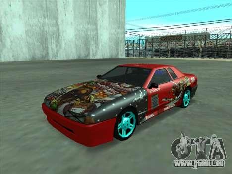 Drift elegy by KaMuKaD3e für GTA San Andreas Seitenansicht