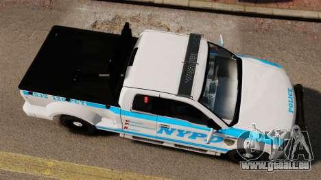 Ford F-150 v3.3 NYPD [ELS & EPM] v3 pour GTA 4 est un droit