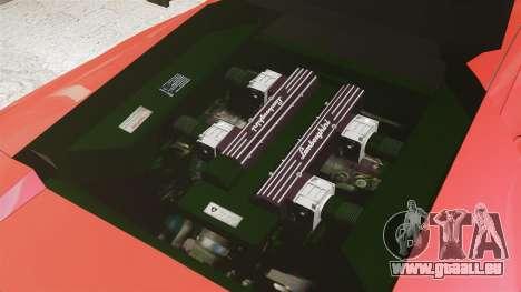 Lamborghini Murcielago 2005 pour GTA 4 est un côté