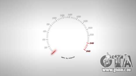 Compteur de vitesse AdamiX v4 pour GTA 4