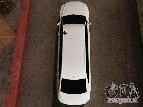Audi A8 Limousine pour GTA San Andreas vue de dessus