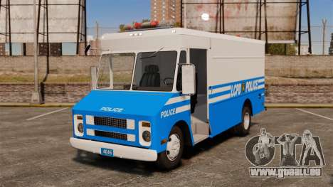 Chevrolet Step-Van 1985 LCPD für GTA 4