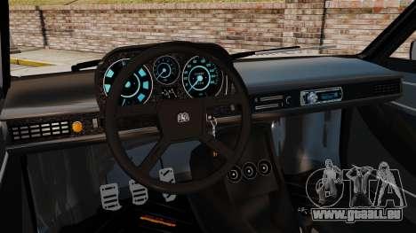 Volkswagen Passat TS 1981 pour GTA 4 est une vue de l'intérieur