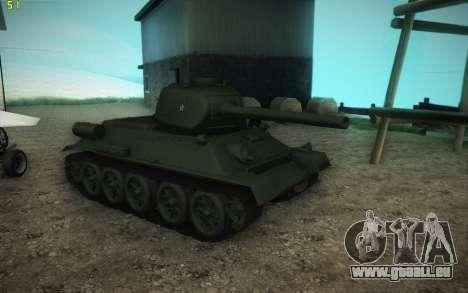 T-34-85 modèle 1945 pour GTA San Andreas