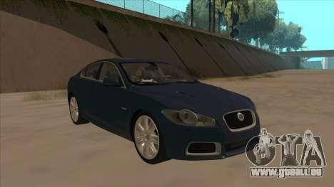 Jaguar XFR 2010 v1.0 für GTA San Andreas linke Ansicht
