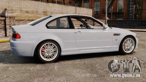 BMW M3 E46 v1.1 pour GTA 4 est une gauche