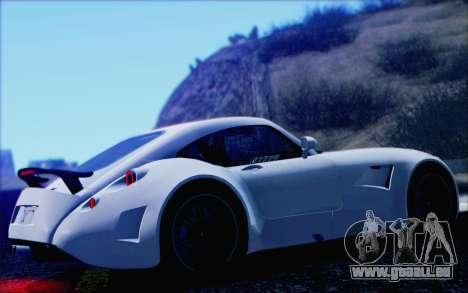 Wiesmann GT MF5 2010 pour GTA San Andreas vue de côté