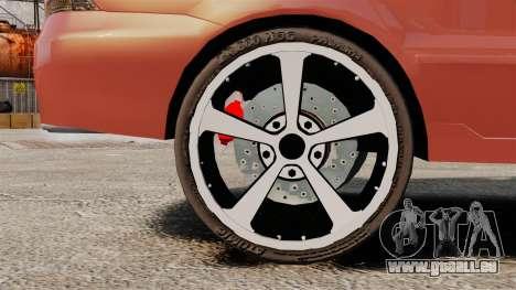Mitsubishi Lancer Evolution IX 1.6 für GTA 4 Rückansicht
