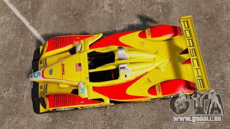 Porsche RS Spyder Evo pour GTA 4 est un droit