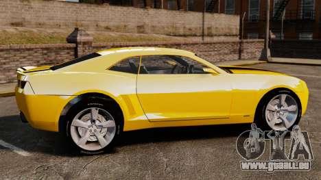 Chevrolet Camaro Bumblebee pour GTA 4 est une gauche
