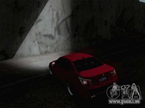 Phares Middle et high beam pour GTA San Andreas quatrième écran