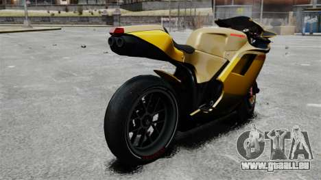 Ducati 848 für GTA 4 linke Ansicht