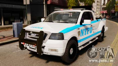 Ford F-150 v3.3 NYPD [ELS & EPM] v3 pour GTA 4