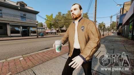 Une nouvelle tasse de café pour GTA 4 troisième écran