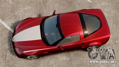 Chevrolet Corvette C6 Z06 V1.1 für GTA 4 rechte Ansicht