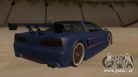Infernus 2013 für GTA San Andreas rechten Ansicht