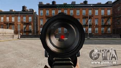Taktische M4-v1 für GTA 4 fünften Screenshot
