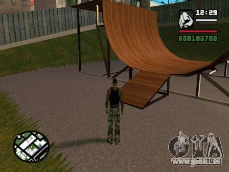 New BMX Park v1.0 pour GTA San Andreas cinquième écran