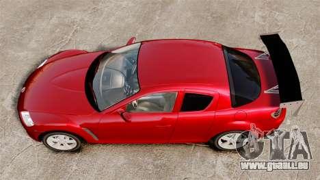 Mazda RX-8 Light Tuning pour GTA 4 est un droit
