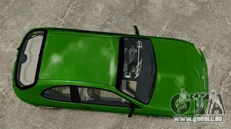 Daewoo Lanos FL 2001 US für GTA 4 Rückansicht