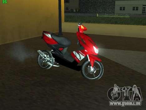 Yamaha Aerox R für GTA San Andreas