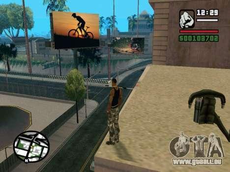 New BMX Park v1.0 für GTA San Andreas achten Screenshot