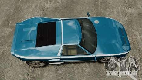 Neue Bullet GT für GTA 4 rechte Ansicht