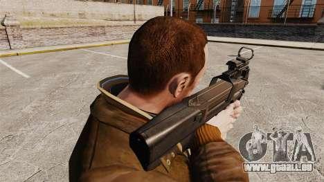 FN P90 Maschinenpistole für GTA 4 Sekunden Bildschirm