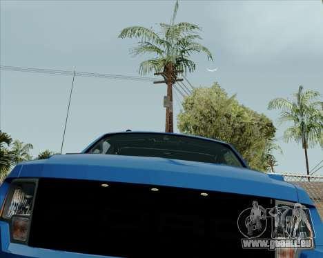 Ford F-150 SVT Raptor 2011 pour GTA San Andreas laissé vue