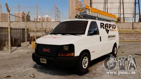 GMC Savana 2500 Rapid Towing Mechanic für GTA 4
