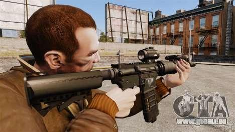 Taktische M4-v1 für GTA 4 Sekunden Bildschirm