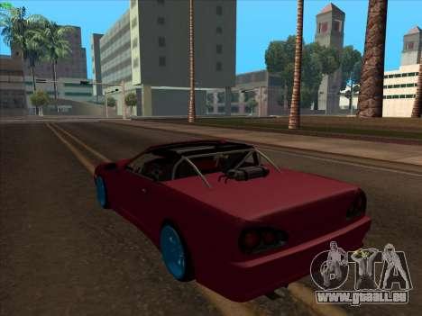 Elegy pickup by KaMuKaD3e pour GTA San Andreas laissé vue