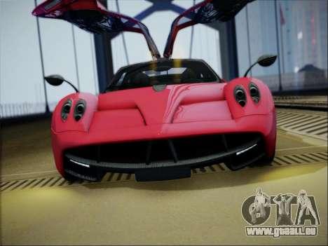 Pagani Huayra pour GTA San Andreas vue de droite