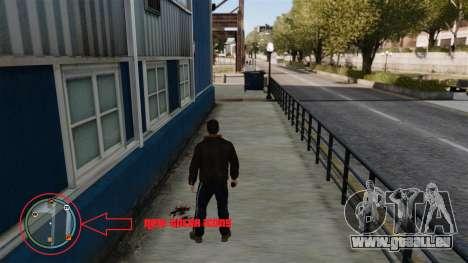 Nouvelles icônes de couleur pour GTA 4 secondes d'écran