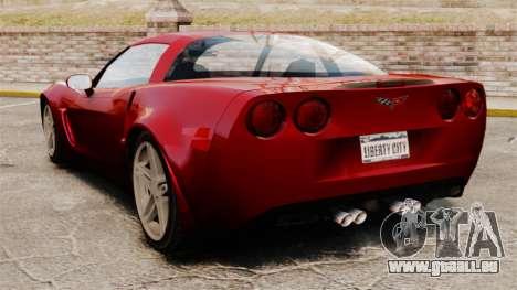 Chevrolet Corvette C6 Z06 V1.1 für GTA 4 hinten links Ansicht