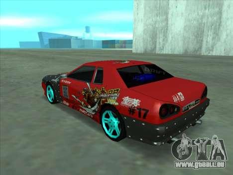 Drift elegy by KaMuKaD3e für GTA San Andreas Innenansicht