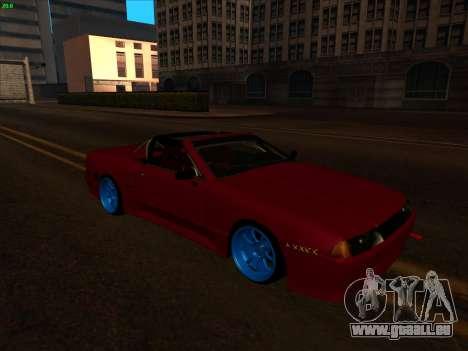 Elegy pickup by KaMuKaD3e pour GTA San Andreas sur la vue arrière gauche