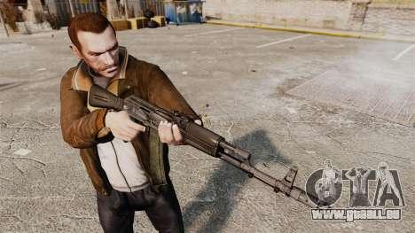 AK-74M pour GTA 4 troisième écran