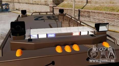 LENCO Bearcat blindée LSPD GTA V pour GTA 4 Vue arrière