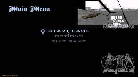 GTA United 1.2.0.1 pour GTA San Andreas troisième écran
