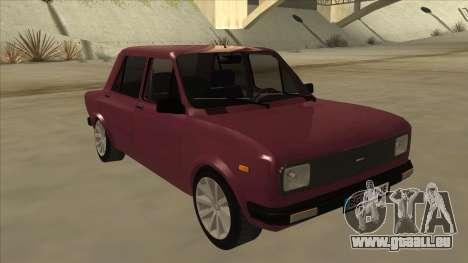 Zastava Yugo 128 pour GTA San Andreas laissé vue