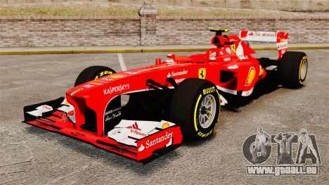 Ferrari F138 2013 v5 pour GTA 4