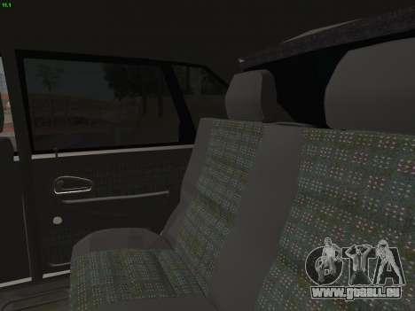 ВАЗ 2114 für GTA San Andreas Räder