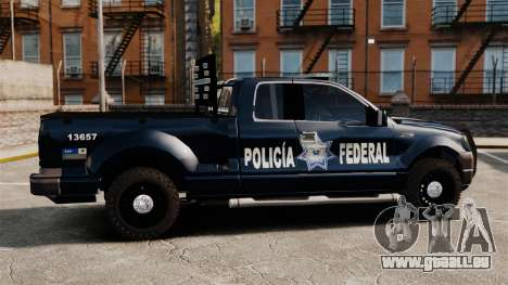 Ford F-150 De La Policia Federal [ELS & EPM] v1 für GTA 4 linke Ansicht