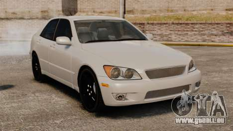 Lexus IS300 pour GTA 4