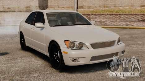 Lexus IS300 für GTA 4