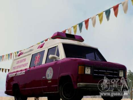 Vapid Ambulance 1986 pour GTA San Andreas